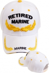 View Buying Options For The Retired Marines Scrambled Eggs Sandwich Bill Mens Cap