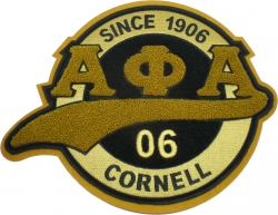 View Buying Options For The Alpha Phi Alpha Chenille Tail Sew-On Patch