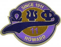 View Buying Options For The Omega Psi Phi Chenille Tail Sew-On Patch
