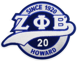 View Buying Options For The Zeta Phi Beta Chenille Tail Sew-On Patch