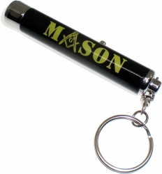 View Buying Options For The Mason Projection Torch Light Flashlight Keychain