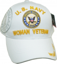 View Buying Options For The U.S. Navy Woman Veteran Shadow Ladies Cap