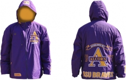 View Buying Options For The Alcorn State Braves Mens Windbreaker Jacket