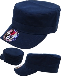 View Buying Options For The Castro Military Fitted Mens Cadet Cap