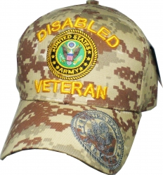 View Buying Options For The Disabled Army Veteran Shadow On Bill Mens Cap