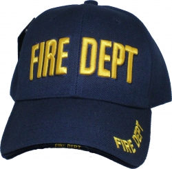 View Buying Options For The Fire Dept Text Classic Sandwich Bill Mens Cap