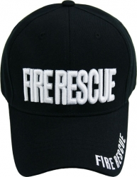 View Buying Options For The Fire Rescue Text Mens Cap