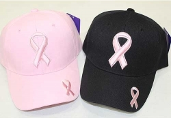 View Buying Options For The Pink Ribbon Breast Cancer Awareness Ladies Baseball Cap