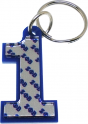 View Buying Options For The Zeta Phi Beta Color Mirror Line #1 Keychain