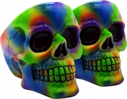 View Buying Options For The Tie Dye Skull Ashtray Set [Pre-Pack]