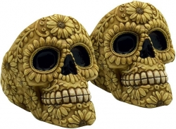 View Buying Options For The Carved Bone Skull Ashtray Set [Pre-Pack]