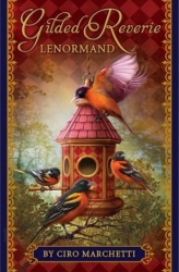 View Buying Options For The Gilded Reverie Lenormand Tarot Card Deck