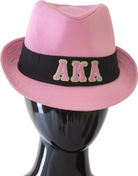 View Buying Options For The Alpha Kappa Alpha Sorority Fashion Fedora