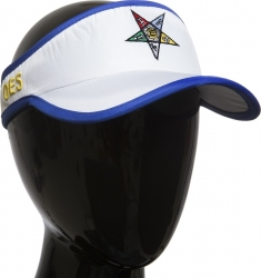 View Buying Options For The Eastern Star Featherlight Ladies Visor