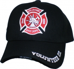 View Buying Options For The Volunteer Fire Dept Logo Sandwich Bill Mens Cap
