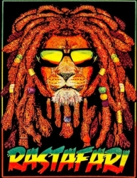 View Buying Options For The Rastafari Blacklight Wall Tapestry