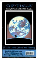 View Buying Options For The Earth Lovers Blacklight Wall Tapestry