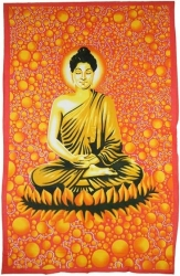 View Buying Options For The Meditating Buddha Twin Size Tapestry