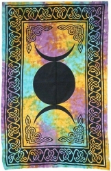 View Buying Options For The Triple Moon Twin Size Tapestry