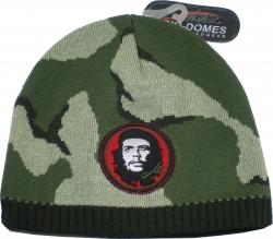 View Buying Options For The Che Guevara Camo Mens Knit Beanie Cap