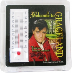 View Buying Options For The Elvis Presley Welcome To Graceland Thermometer Magnet [Pre-Pack]