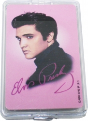View Buying Options For The Elvis Presley Pink Foil Playing Cards