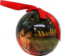 View Buying Options For The Elvis Presley Welcome To Graceland Christmas Tree Ornament [Pre-Pack]