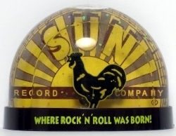 View Buying Options For The Elvis Presley Sun Records Waterglobe Magnet
