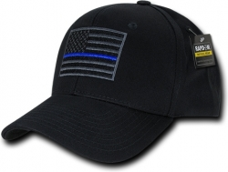 View Buying Options For The RapDom Thin Blue Line Embroidered Operator Mens Cap