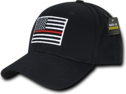 View Buying Options For The RapDom Thin Red Line Embroidered Operator Mens Cap