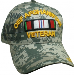 View Buying Options For The OEF Afghanistan Veteran Ribbon Shadow Mens Cap