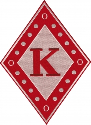 View Buying Options For The Kappa Alpha Psi Diamond Iron-On Patch