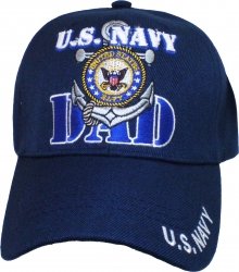 View Buying Options For The U.S. Navy Dad Anchor Circle Emblem Mens Cap