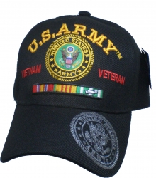 View Buying Options For The U.S. Army Vietnam Veteran Ribbon Mens Cap