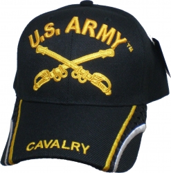 View Buying Options For The U.S. Army Cavalry Mesh Stripe Bill Mens Cap
