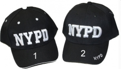 View Buying Options For The NYPD Text Classic Sandwich Bill Mens Cap