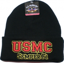 View Buying Options For The USMC Semper Fi Mens Cuff Beanie Skull Cap