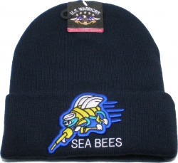 View Buying Options For The Seabees Mens Cuff Beanie Skull Cap