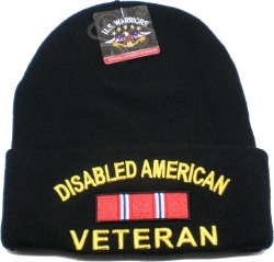 View Buying Options For The Disabled American Veteran Mens Cuff Beanie Skull Cap