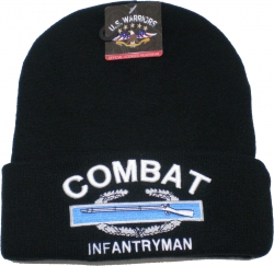 View Buying Options For The Combat Infantryman Mens Cuff Beanie Skull Cap