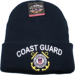 View Buying Options For The Coast Guard Mens Cuff Beanie Skull Cap