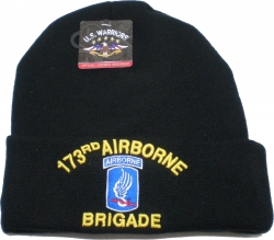 View Buying Options For The 173rd Airborne Brigade Mens Cuff Beanie Skull Cap