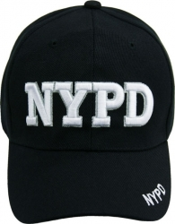 View Buying Options For The NYPD Text Classic Mens Cap