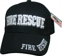 View Buying Options For The Fire Rescue Bold Text Mens Cap