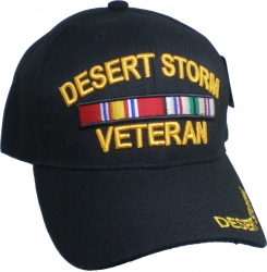 View Buying Options For The Desert Storm Veteran Ribbons Mens Cap