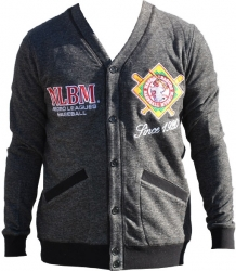 View Buying Options For The Negro League Baseball NLBM Mens Cardigan