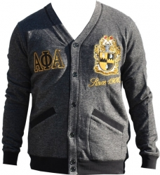 View Buying Options For The Alpha Phi Alpha Divine 9 Mens Cardigan