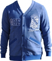 View Buying Options For The Phi Beta Sigma Divine 9 Mens Cardigan