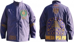 View Buying Options For The Omega Psi Phi Divine 9 S4 Mens Windbreaker Jacket