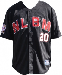 View Buying Options For The Negro League Baseball NLBM Commemorative S6 Mens Jersey